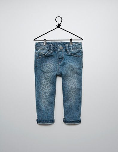 30d5f3a7 leopard print jeans - Jeans - Baby girl (3-36 months) - Kids - ZARA United  States
