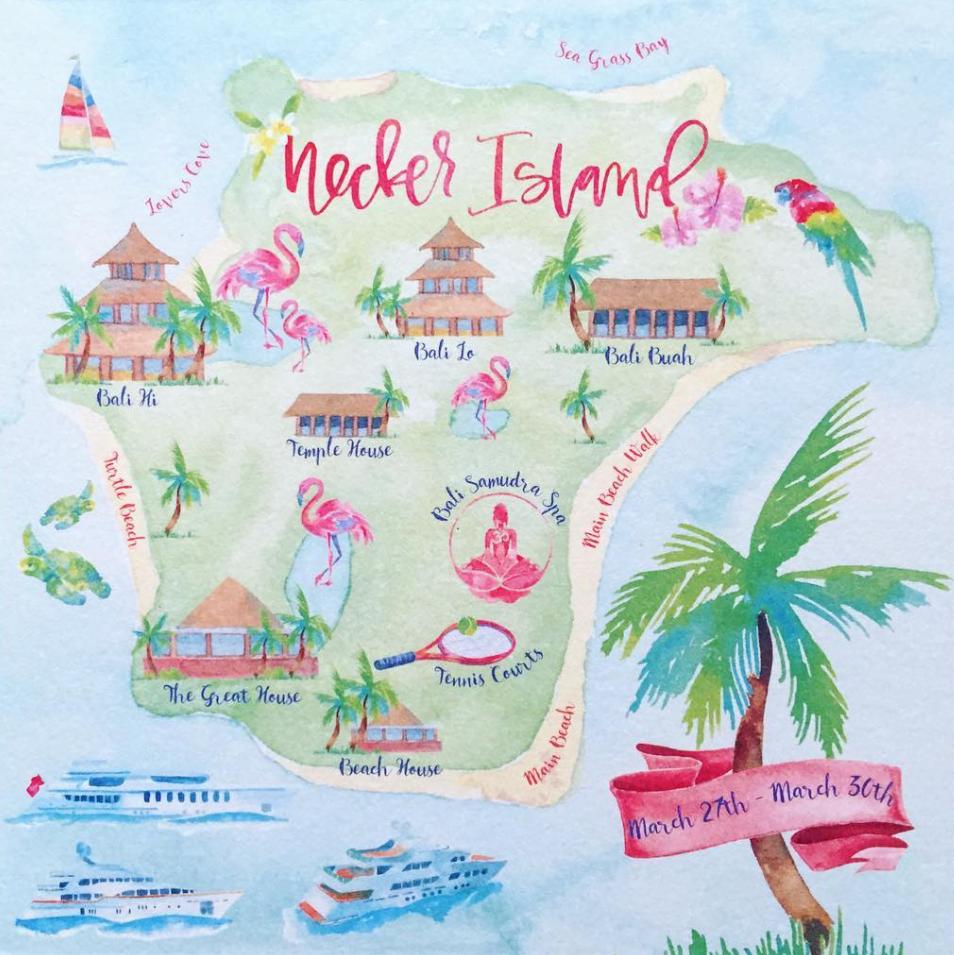 Watercolor Map For Wedding Invitations By Kearsley Lloyd Maps