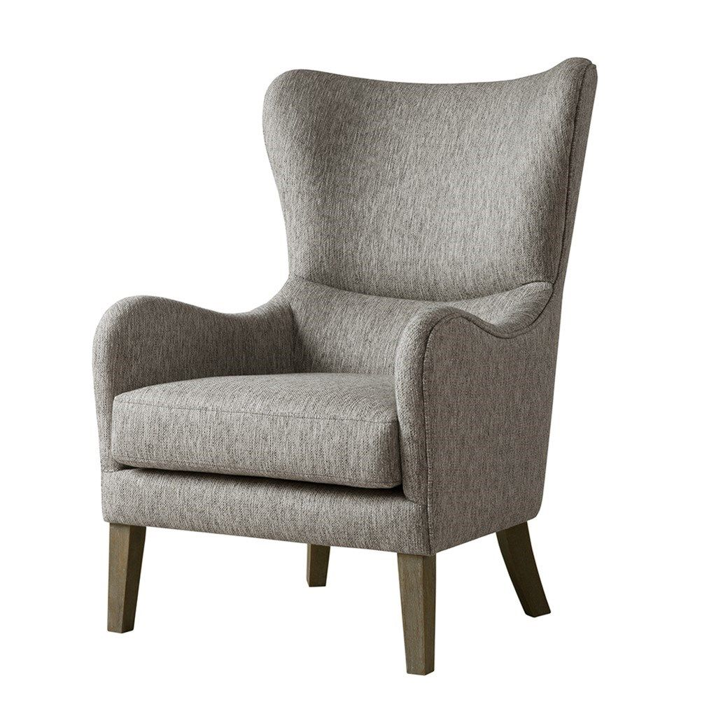 Madison Park Arianna Swoop Wing Chair Wingback Chair