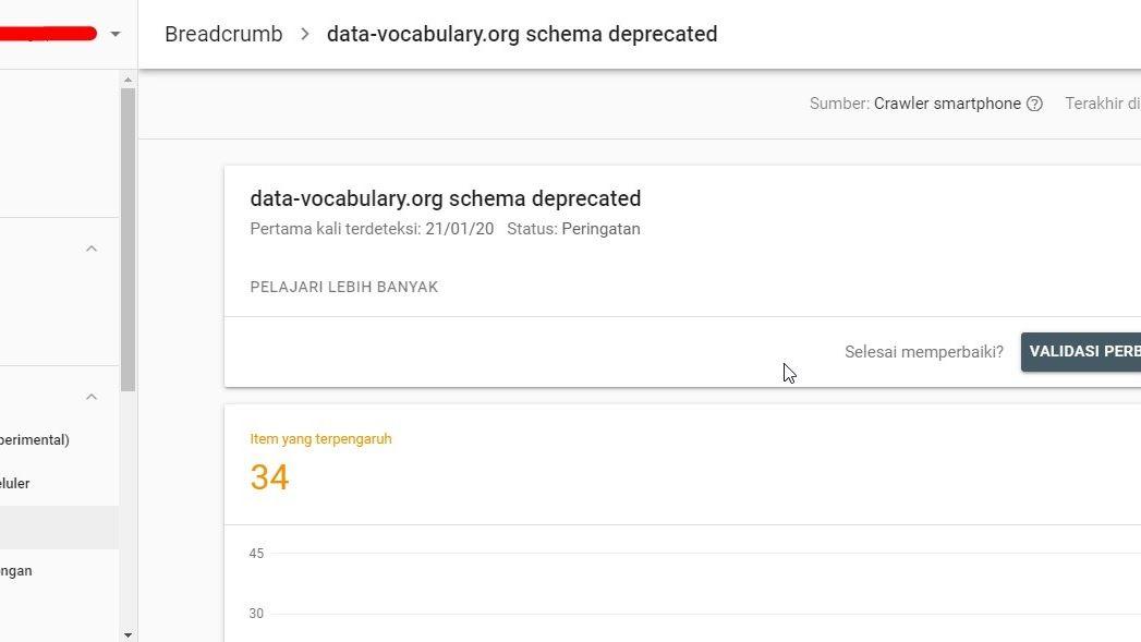 Cara Memperbaiki Error Data Vocabulary Org Schema Deprecated Di Blog Di 2020 Blog Peringatan