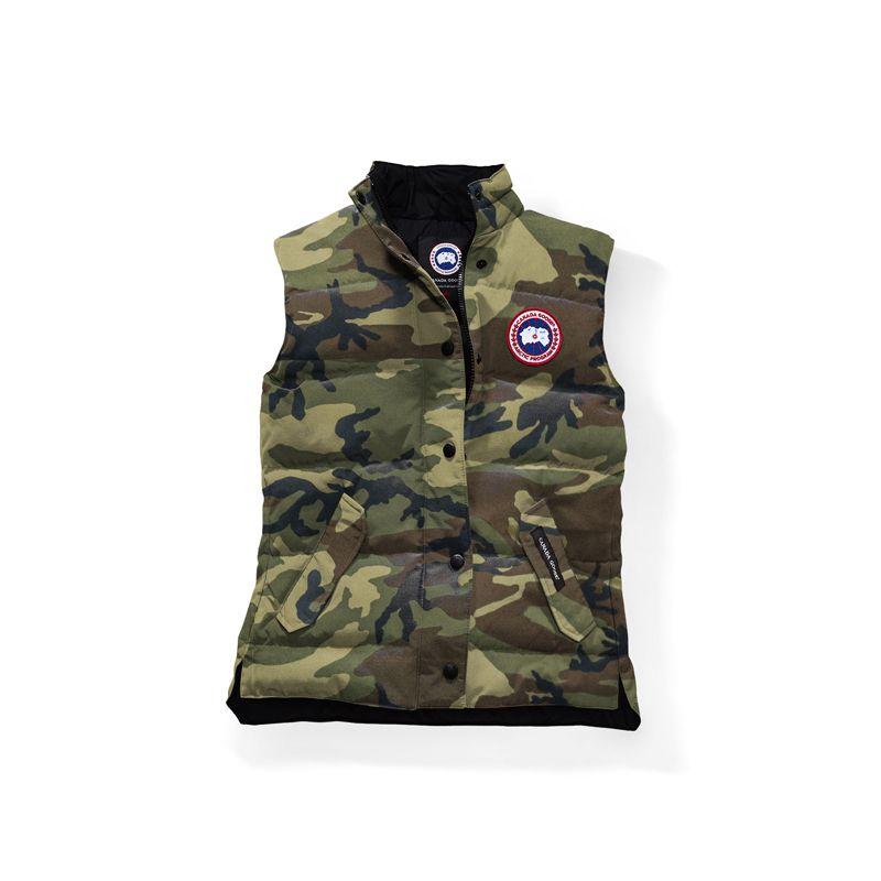 women canada goose classic camo freestyle vest discounts down rh pinterest com