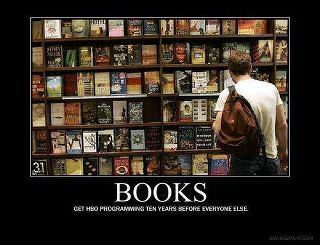 Imagine a world without books.