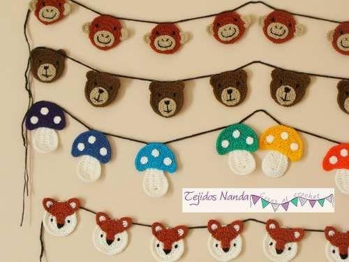 Mobili Tarba ~ Make a cute crochet daisy chain daisy chain chains and crochet