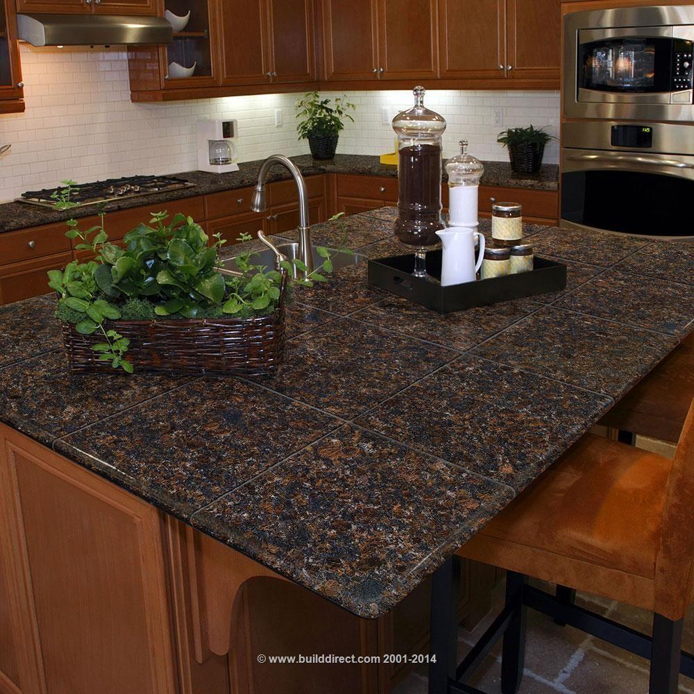 Granite Modular Kitchen Tiles   Topstone Collection   Tan Brown