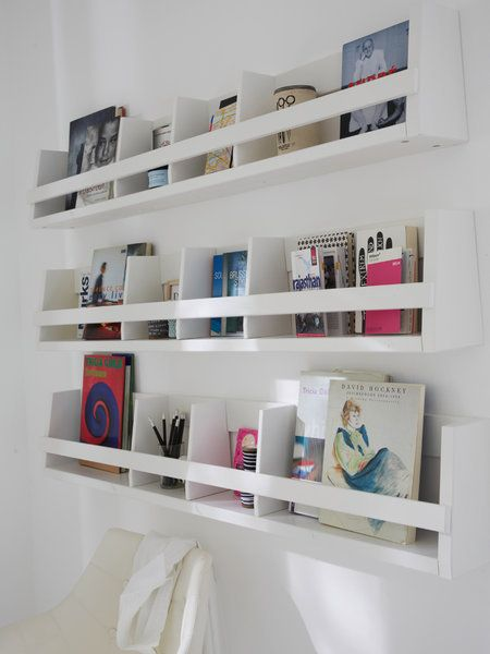 Librer as estantes y baldas con dise o y estilo kitchens - Estantes para librerias ...