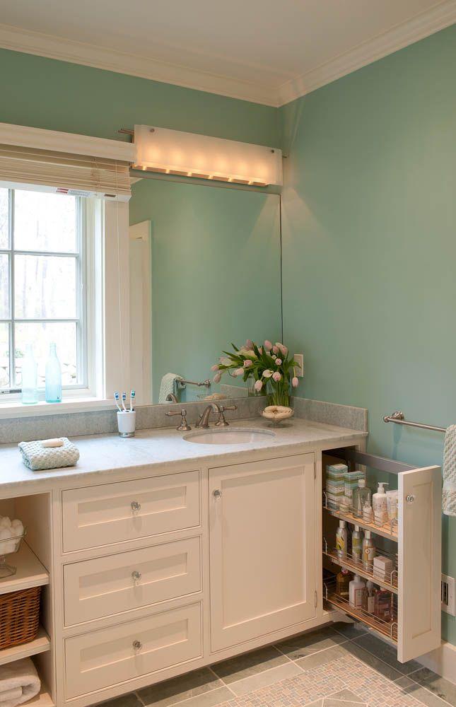 custom bath cabinetry great slide out bathroom cabinets on custom bathroom vanity plans id=30846