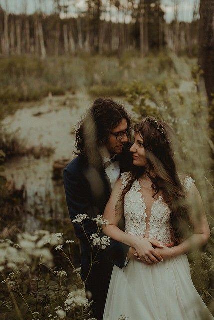 Suknia ślubna Dla Rusałki Zwiewna Boho Rustykalna Używane Suknie