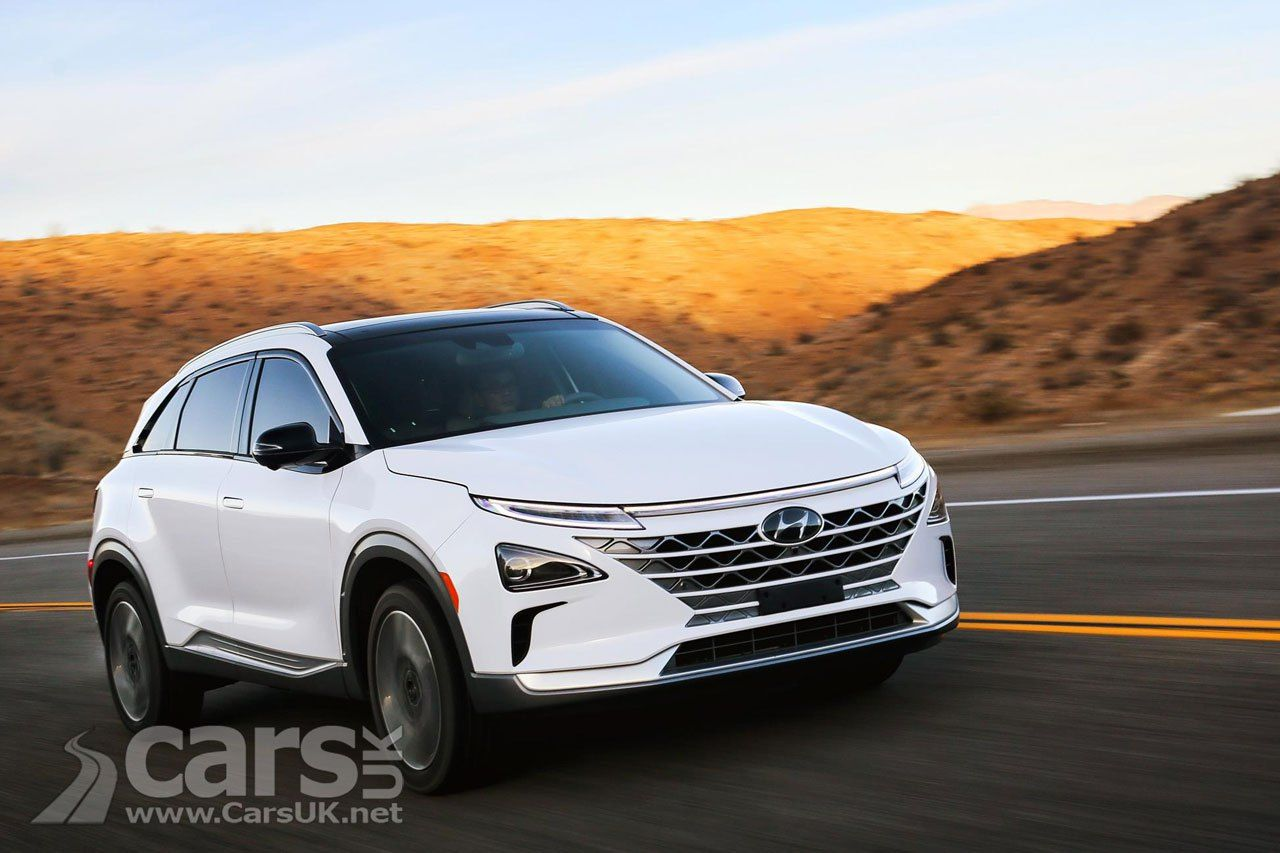 Hyundai Nexo Hydrogen Fuel Cell Crossover set to cost £