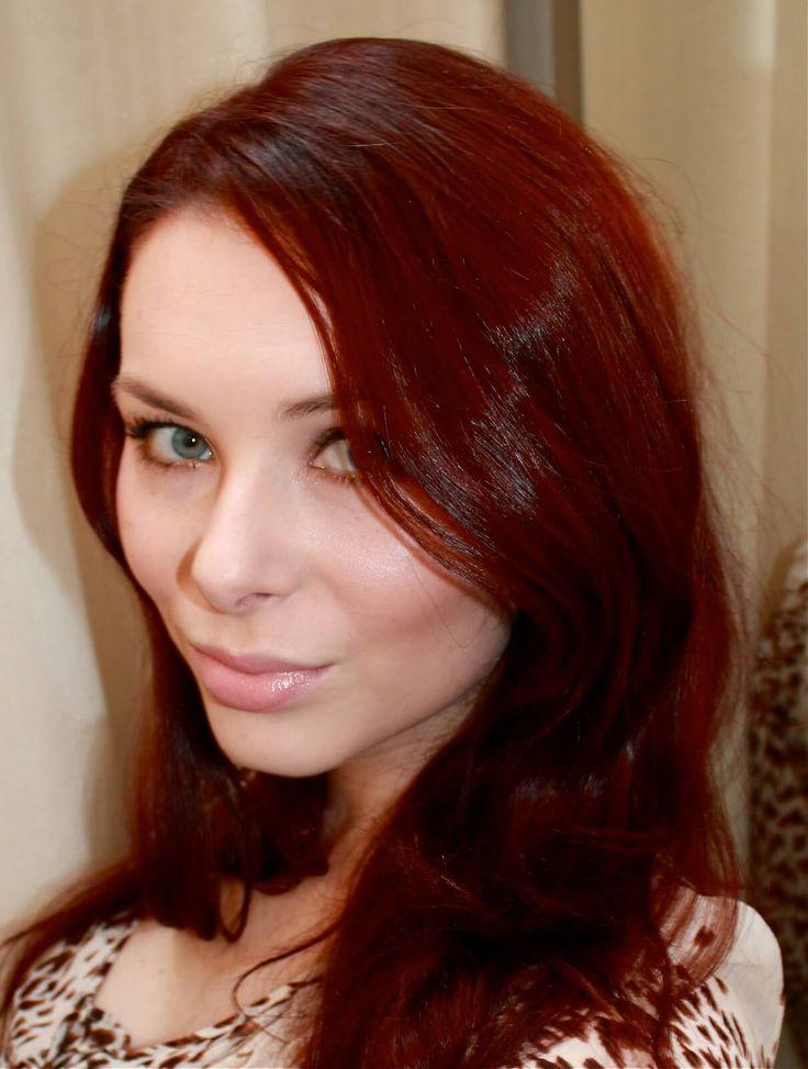 Rote Haarfarbe - New Site | Haarfarben, Naturrote haare