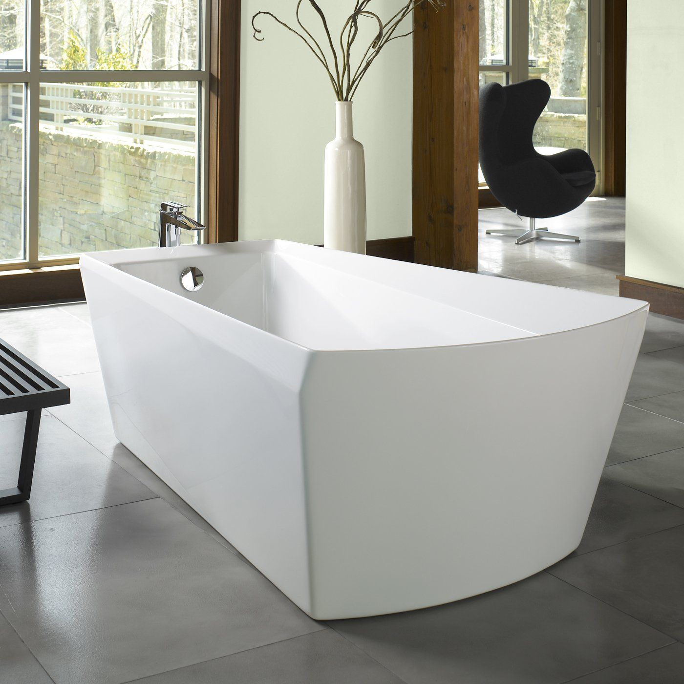 Toto Soiree Freestanding Bath www.lightsofoconee.com | Tubs to Soak ...