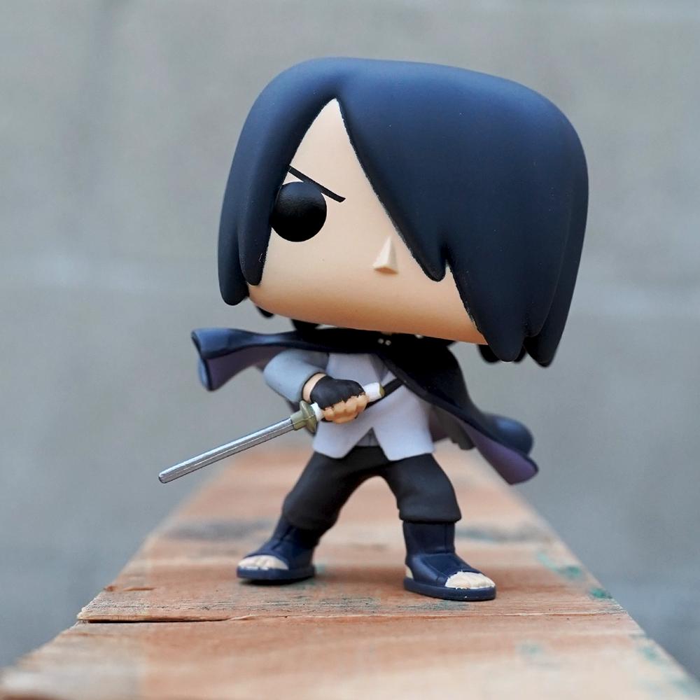 NEW Boruto Naruto Next Generations Sasuke w//o Arm Pop POP PROTECTOR VINYL