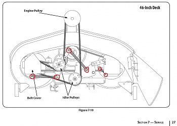 Need A Diagram For The Huskee Lt 4600 Lawn Mower Click Image For