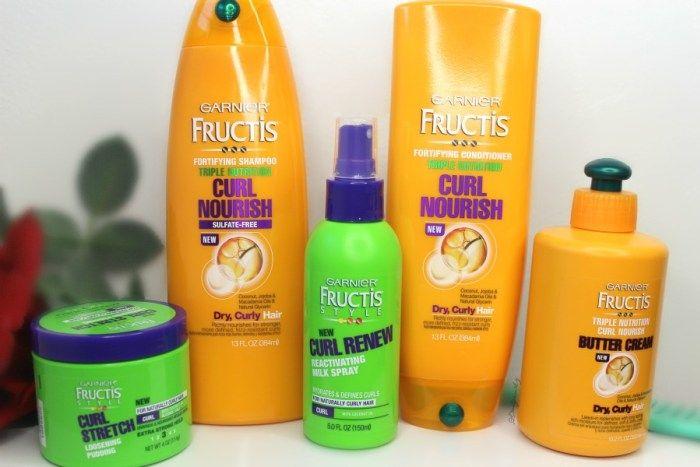 New Garnier Fructis Curl Nourish Productos Para Cabello Rizado
