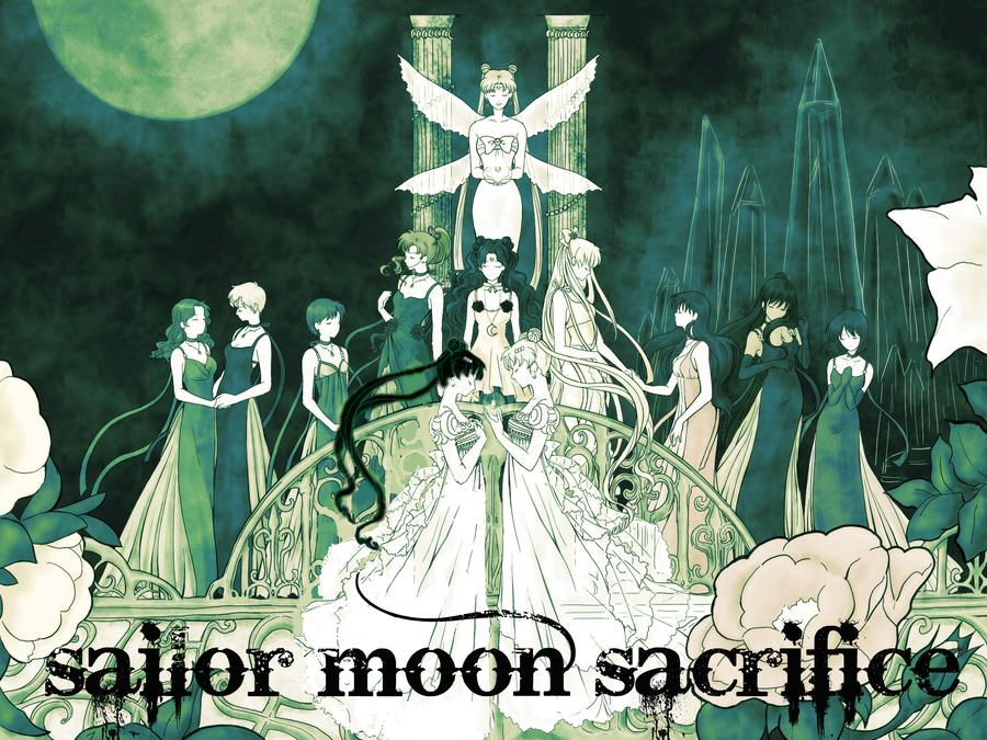Sailor Moon Sacrifice Sailor Moon Wallpaper Sailor Moon Fan Art Sailor Moon Background