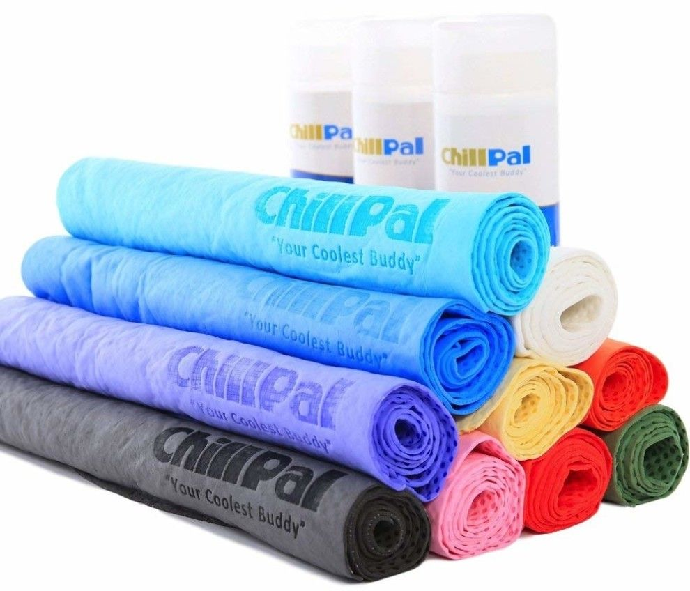 A Lightweight And Breathable Towel You Can Soak With Cold Water To