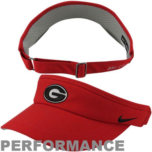 Nike Georgia Bulldogs 2013 Sideline Dri-FIT Adjustable Performance Visor,  $23.99