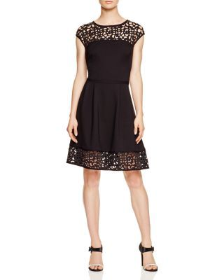 d96cb2f6e143 Lauren Ralph Lauren Fit and Flare Dress - Bloomingdale s Exclusive ...