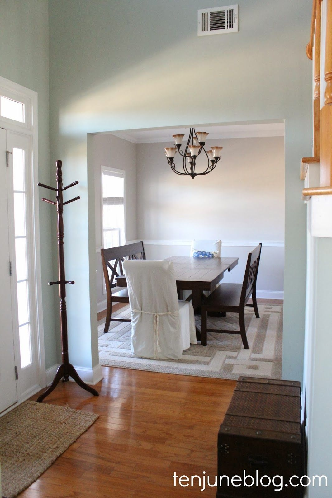 Best Ten June Dining Room Paint Makeover Sherwin Williams 400 x 300