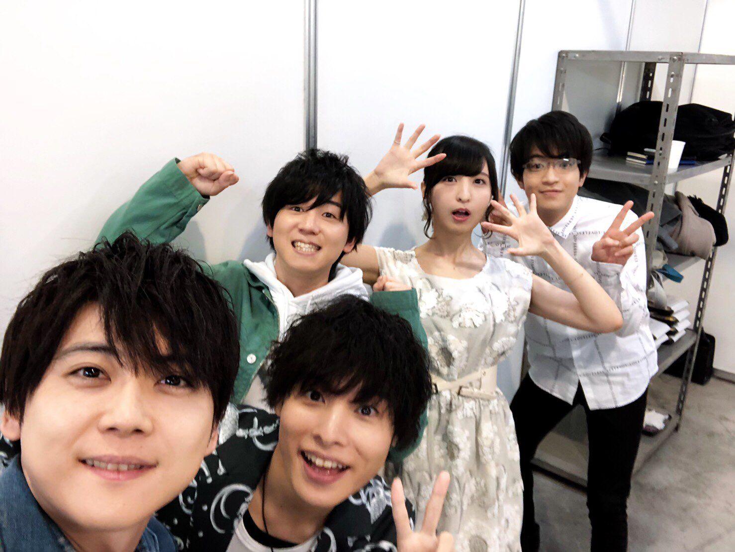 梶裕貴@staff on Twitter | Voice actor, Yūki kaji, My hero ...