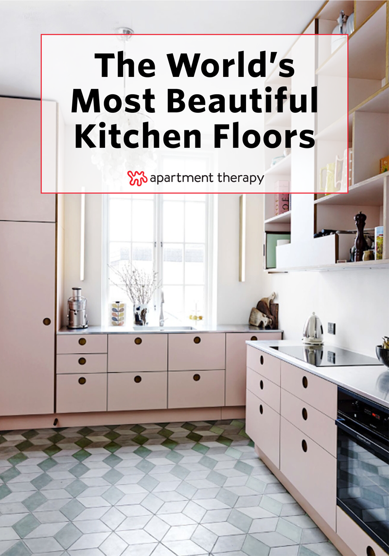 The World\'s Most Beautiful Kitchen Floors | Hard times, Kitchens and ...