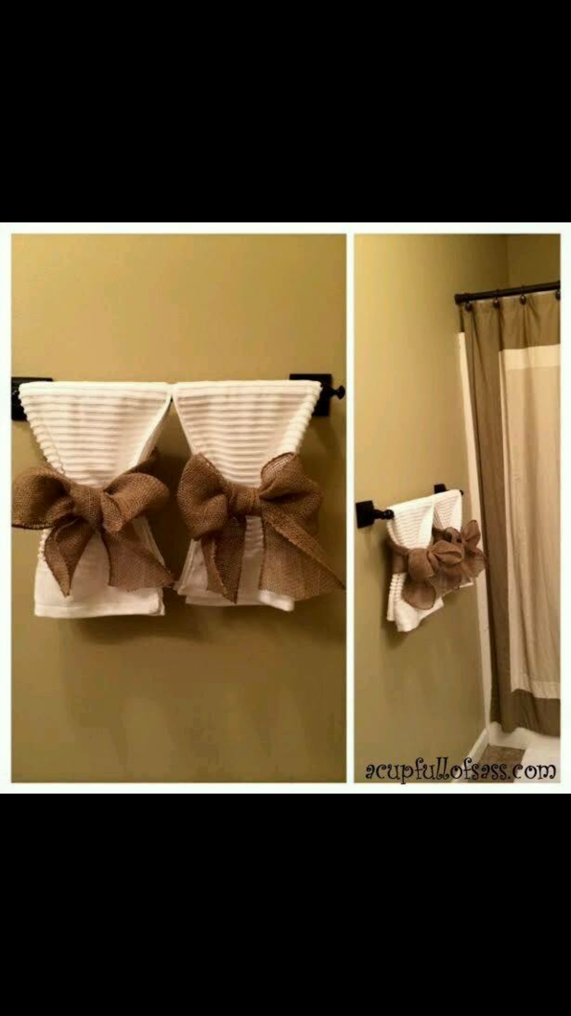 How to Update your Bathroom in a weekend!   Bathroom towels and Towels
