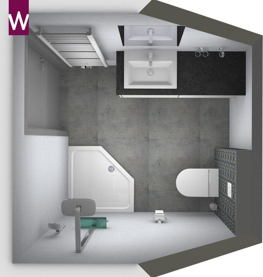 Kleine alles voor en over kleine badkamers home inspiratie pinterest - Kleine betegelde badkamer ...