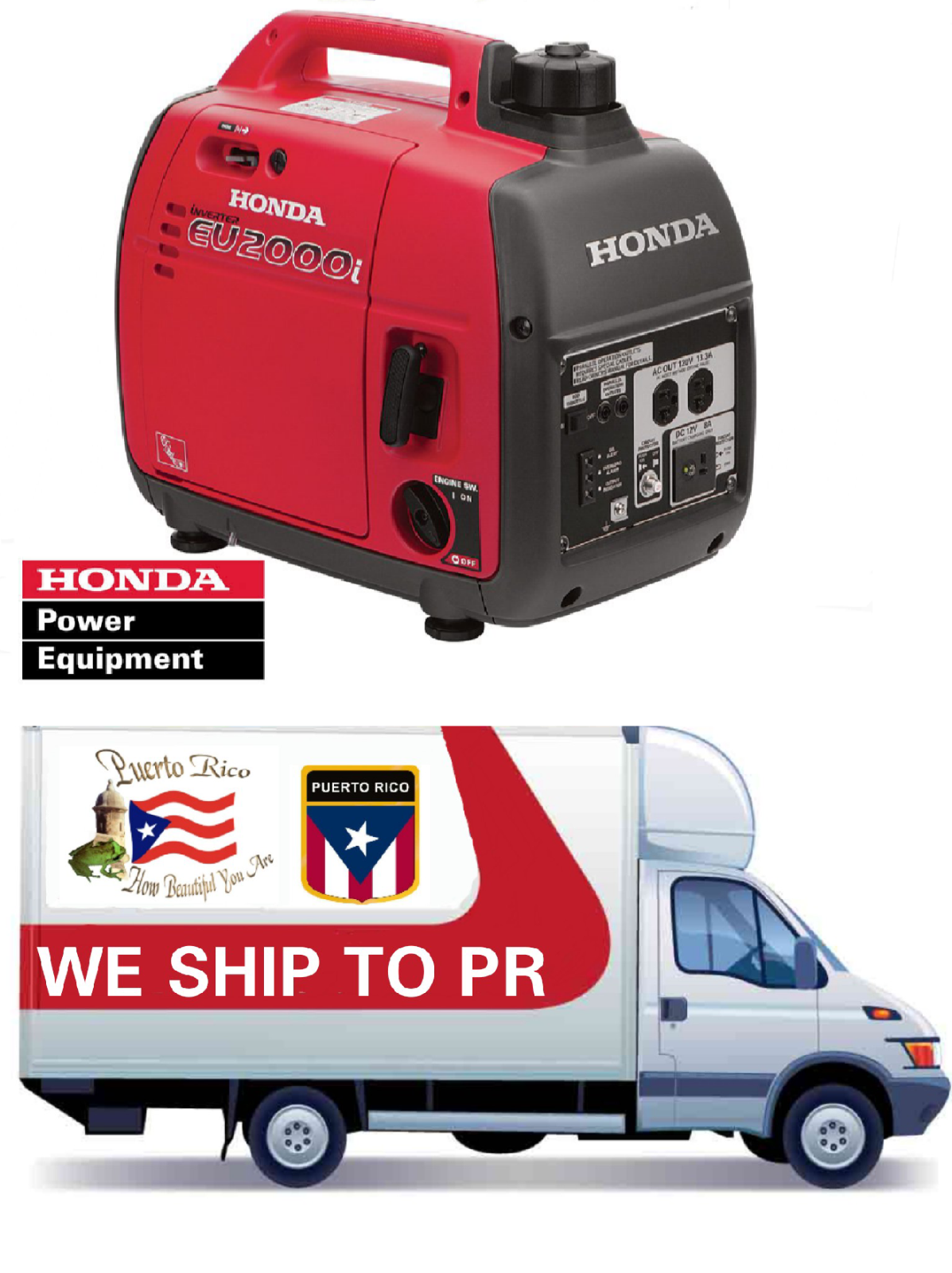 Honda EU2000iA1 2000 Watt Peak Portable Inverter