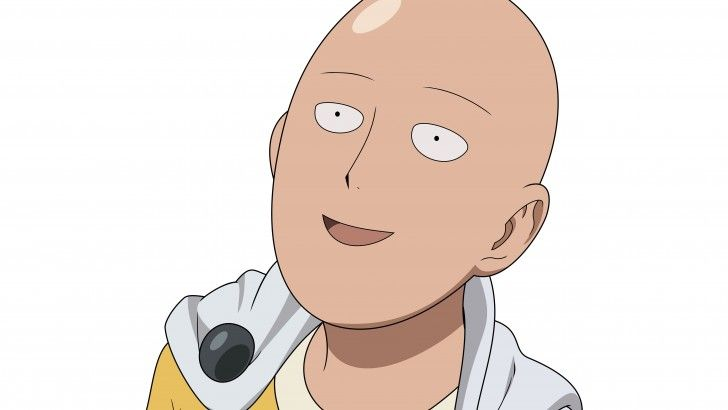 Download Saitama Funny One Punch Man Wallpaper 5k 5120x2880