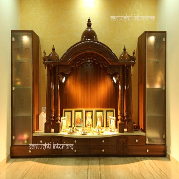 Mandir   Our Puja Room. Pooja Room Ideas   Have A Nice Day At A Luxurious  Place Of Your Own. Find Luxurious Homes In Balewadi