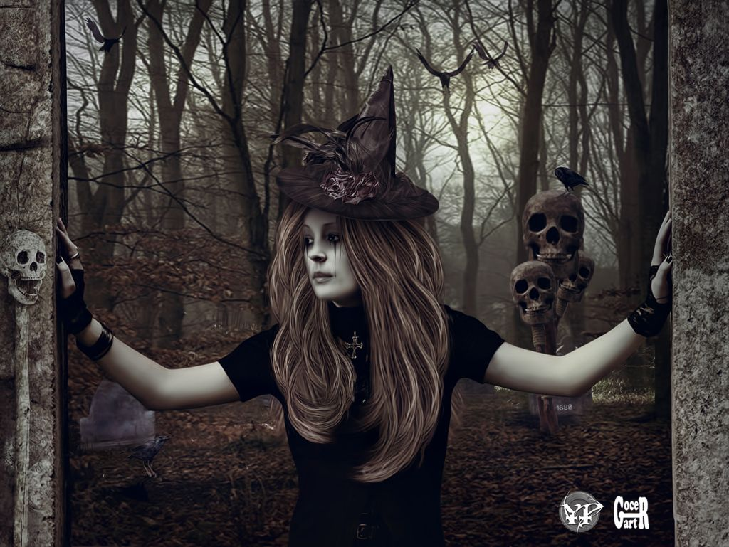 saf witch wallpaper from fantasy wallpapers the witching hour