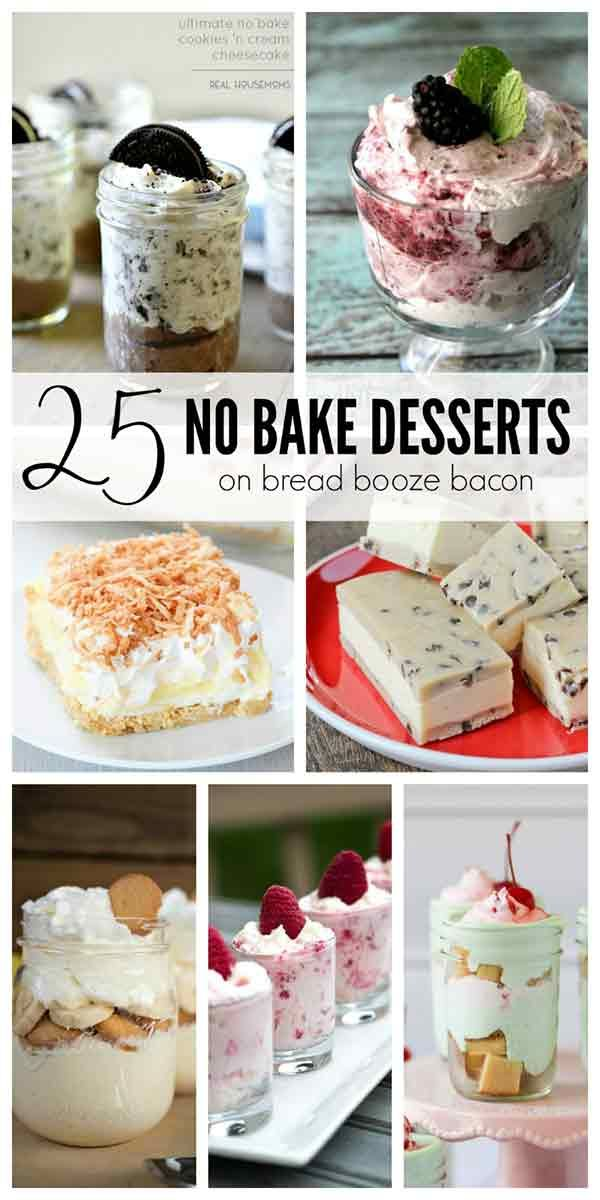 25 Easy And Delicious No Bake Desserts