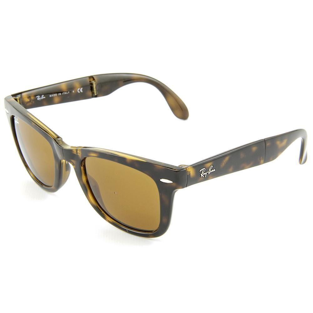 Ray-Ban Folding Wayfarer Plastic Mujer Gafas de sol Usado 8164 ... 924b38cf42