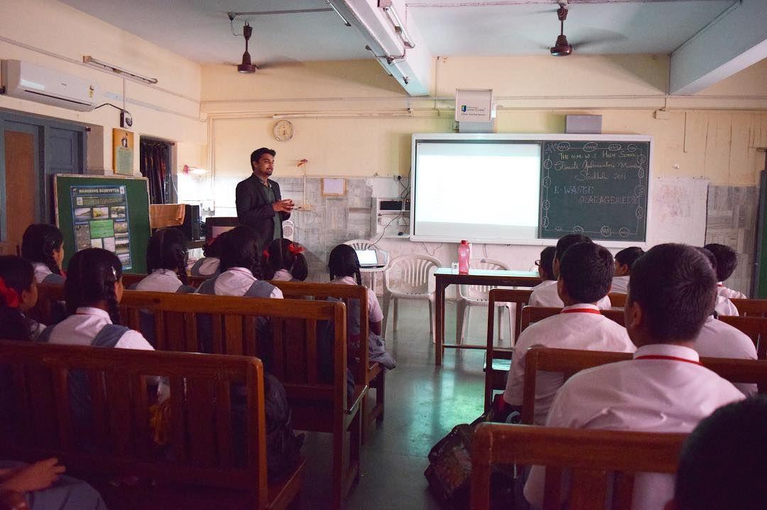 #EWaste #Awareness program at The North Bombay Welfare Society's High #School