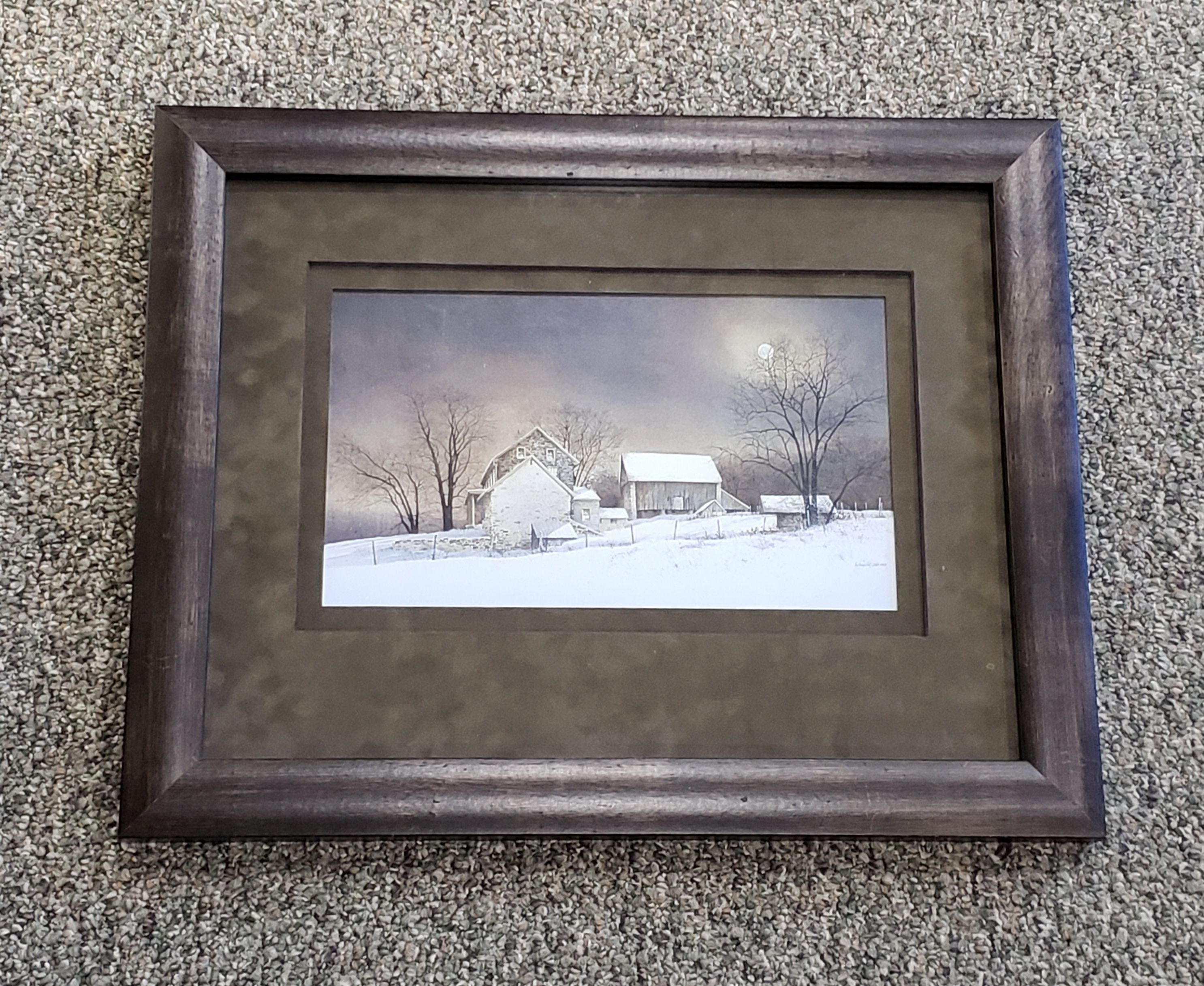 Custom Framing by Colorado Frames Plein air frame