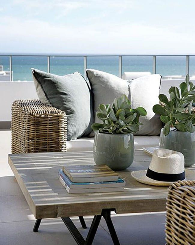 Chilled out coastal living Interior Design and