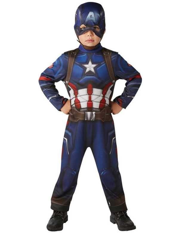 Child Classic Civil War Captain America Costume  18ab64733c3c3