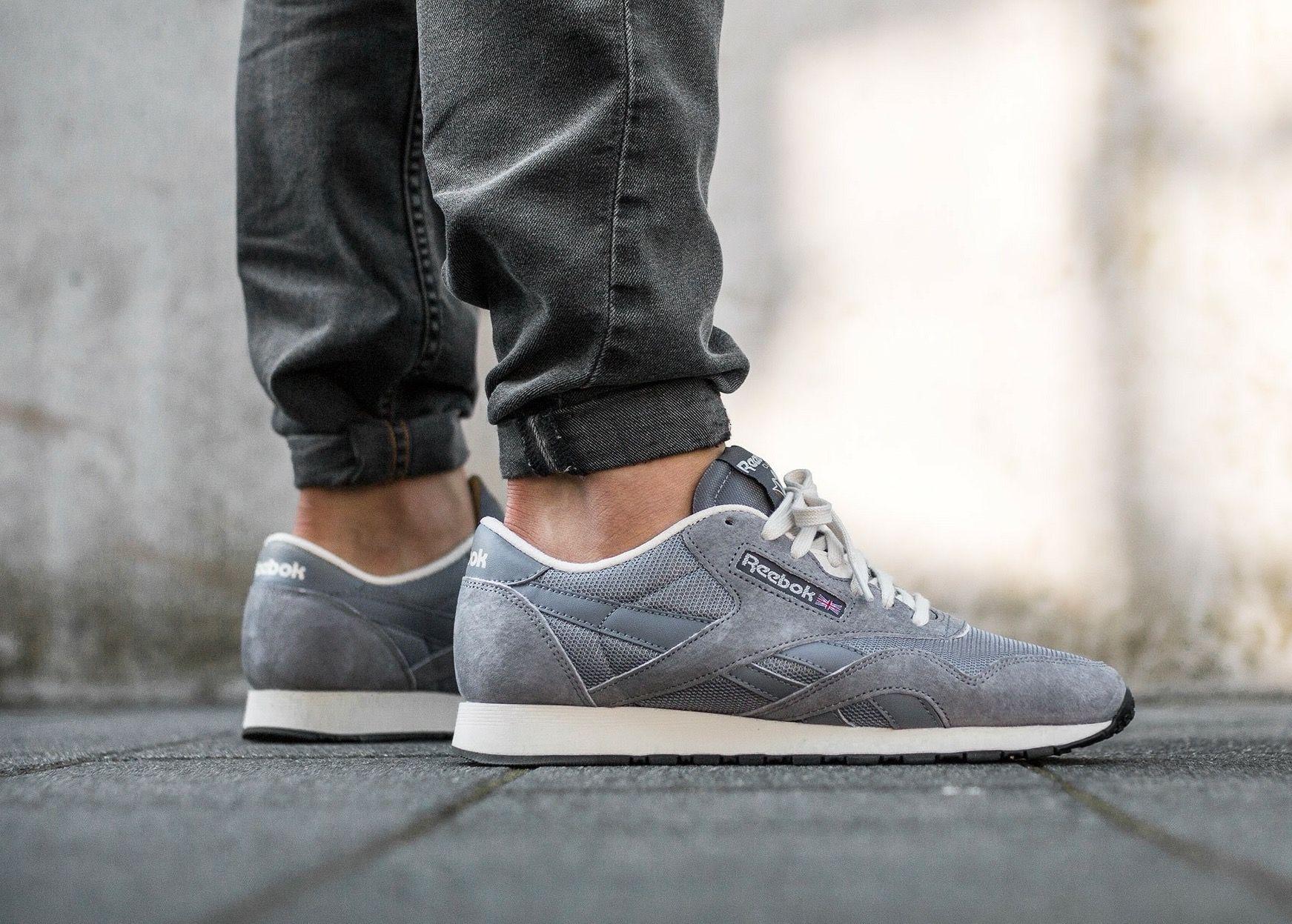 Reebok Classic Nylon: Grey