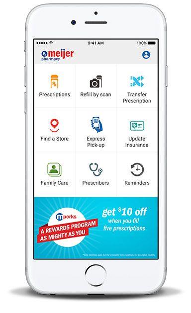 Meijer Pharmacy Mobile App Mobile app