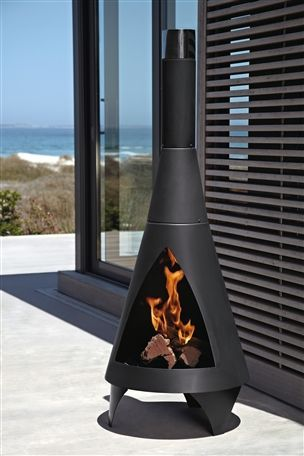 Colorado Wood Burning Patio Heater From The Next Uk Online