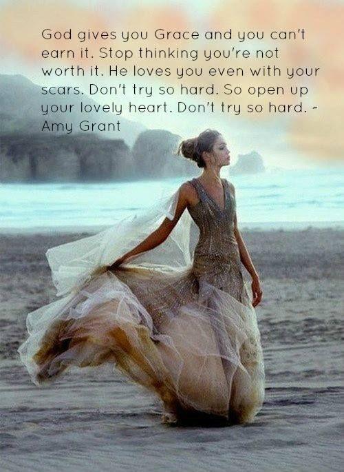 God's amazing grace...