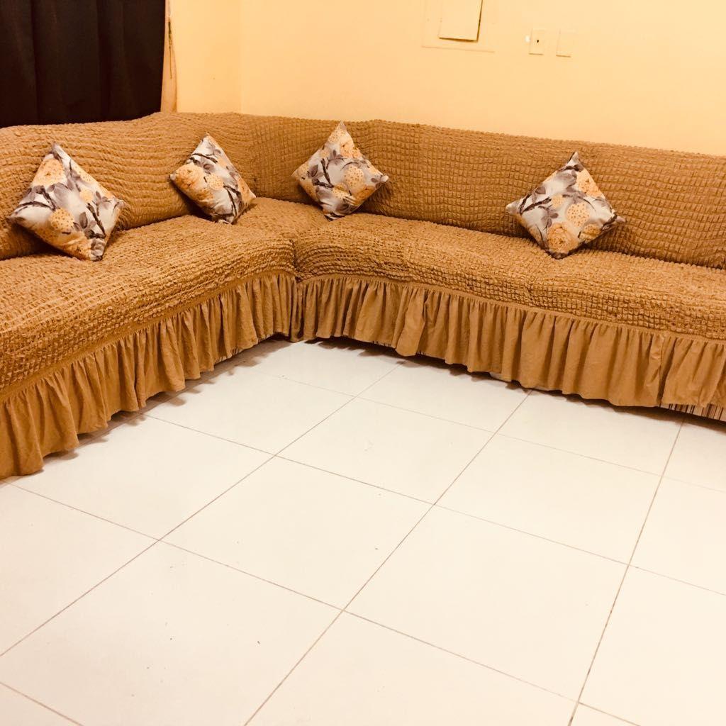 لطلب واتس اب 0543221247 غطا كنب بالمتر من تصوير زباينا يتوفر عندنا تلبيسات كنت با المتر تفصيل على الكنبات المتصل جميع Sectional Couch Furniture Home Decor