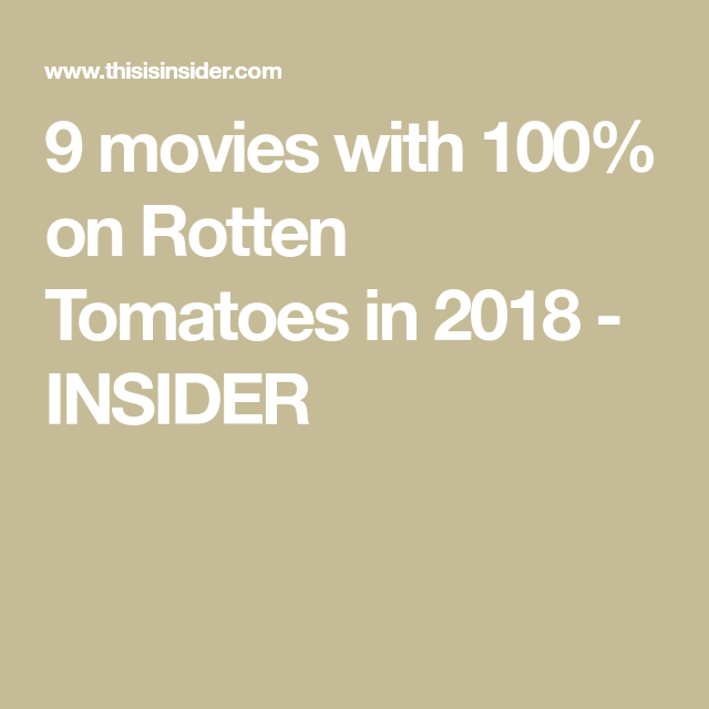Only 9 Movies Received A Perfect Score On Rotten Tomatoes This Year Here They Are Rotten Tomatoes Movies Tomato Movie