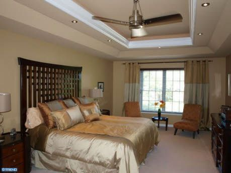 Master bedroom recessed lighting and tray ceiling home decor check out the home i found in yardley tray ceilingsmaster aloadofball Image collections