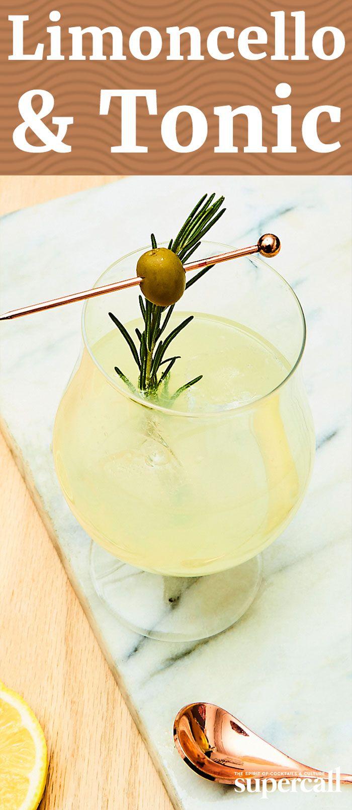 Limoncello & Tonic #limoncellococktails