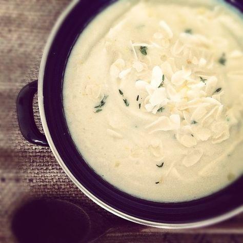 Bloemkool prei soep | Groen in de Keuken