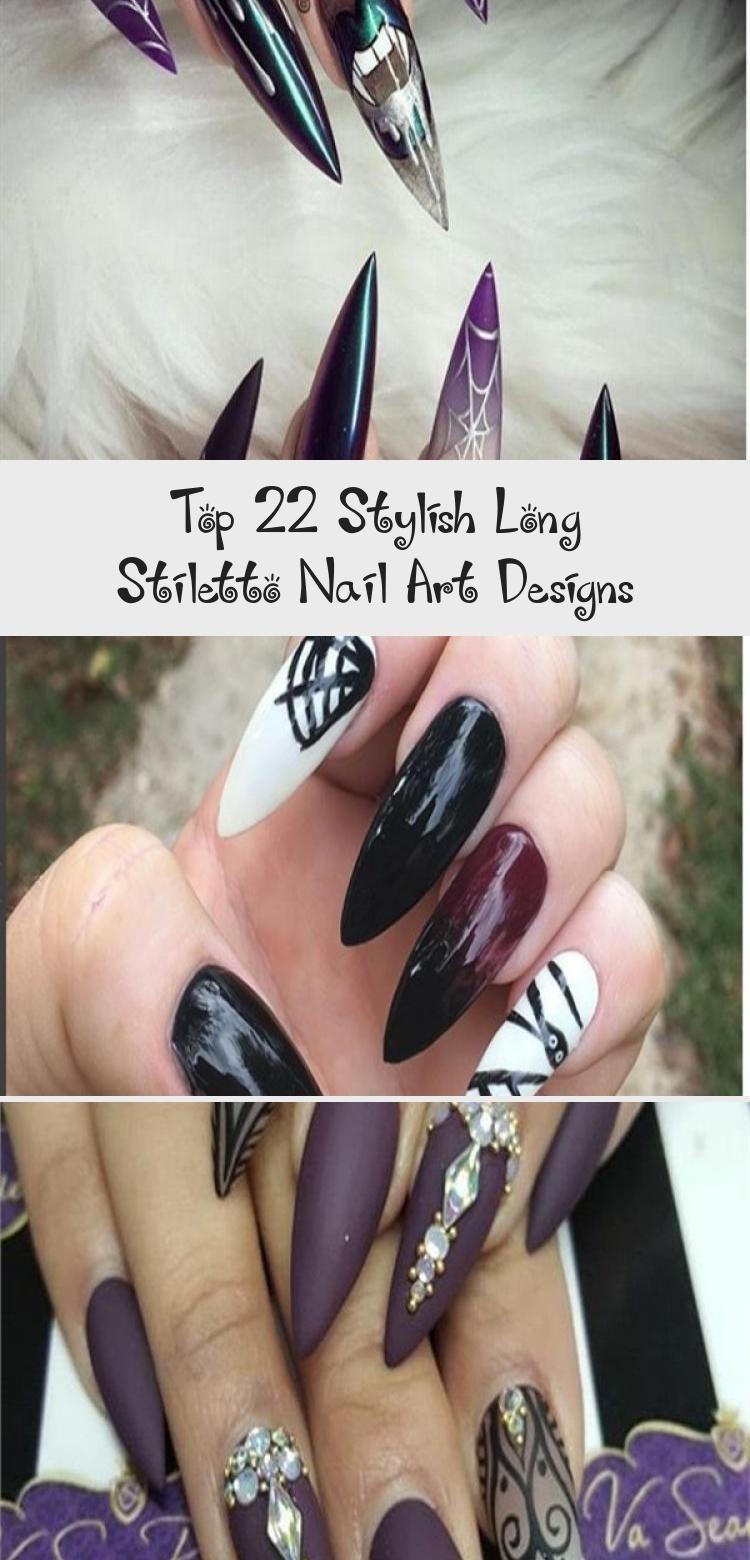 Photo of Top 22 Stylish Long Stiletto Nail Art Designs – Beauty