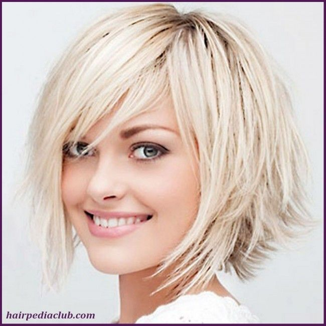 5 Short Haircuts For Thick Hair And Round Faces 2 650x650 Jpg 650 650 Pixels Medium Hair Styles For Women Bob Haircut For Fine Hair Haircut For Thick Hair