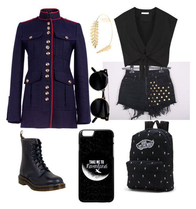 """""""Bravely sexy"""" by talitha-peverill on Polyvore featuring Alice + Olivia, Burberry, Dr. Martens, Vans and Cara"""