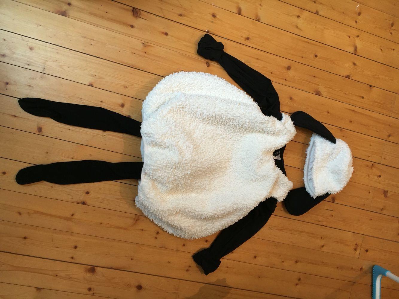 Shaun das Schaf- Kostüm // eigenes Schnittmuster #sheepcostume