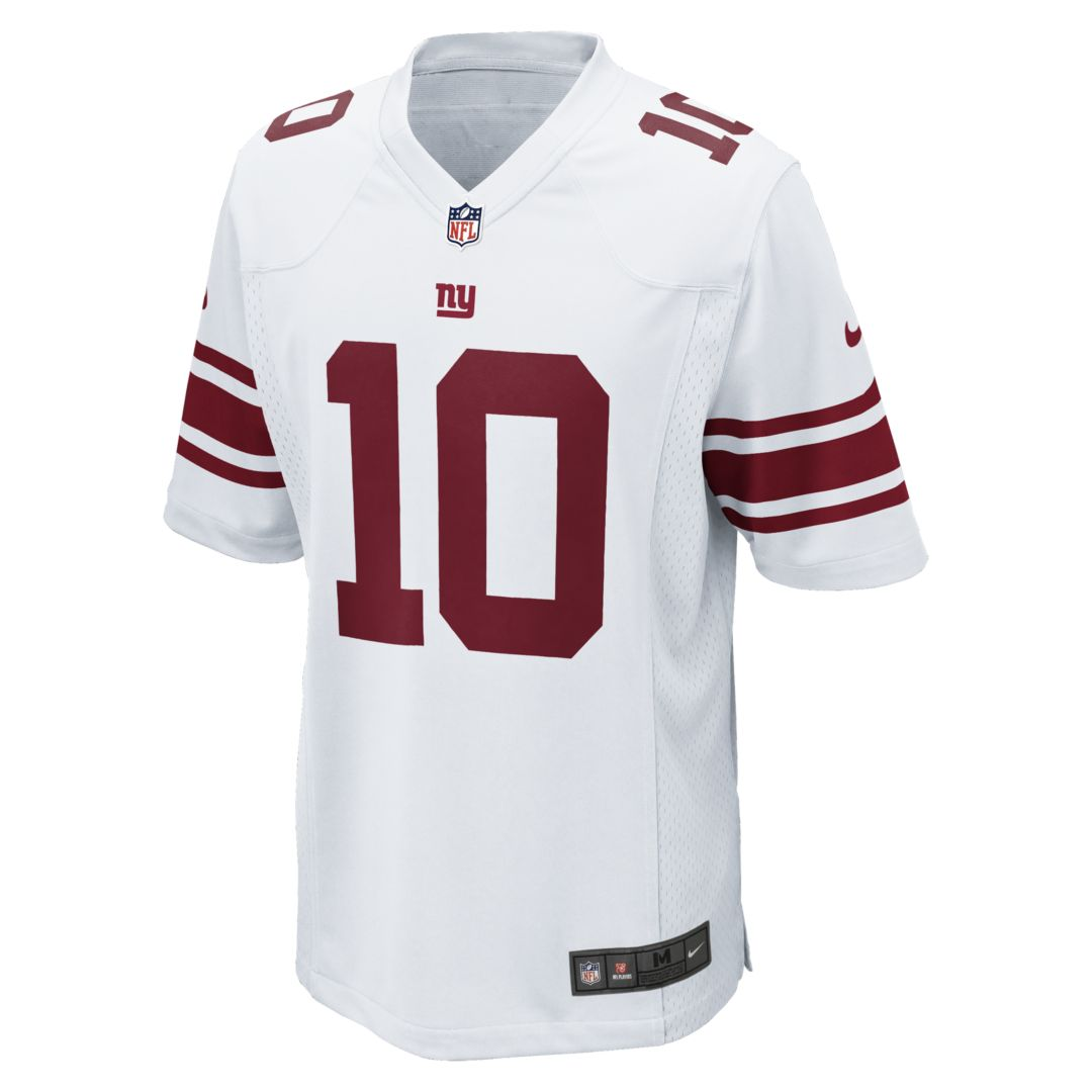 hot sale online b5c4d 13151 NFL New York Giants (Eli Manning) Men's Football Away Game ...